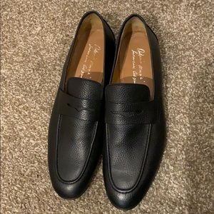 NWT Antonio MauriziLeather Penny Loafer
